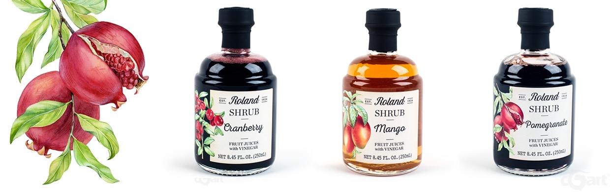 roland shrub果汁醋